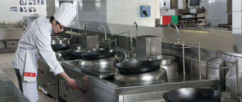Chinese Training Kitchen