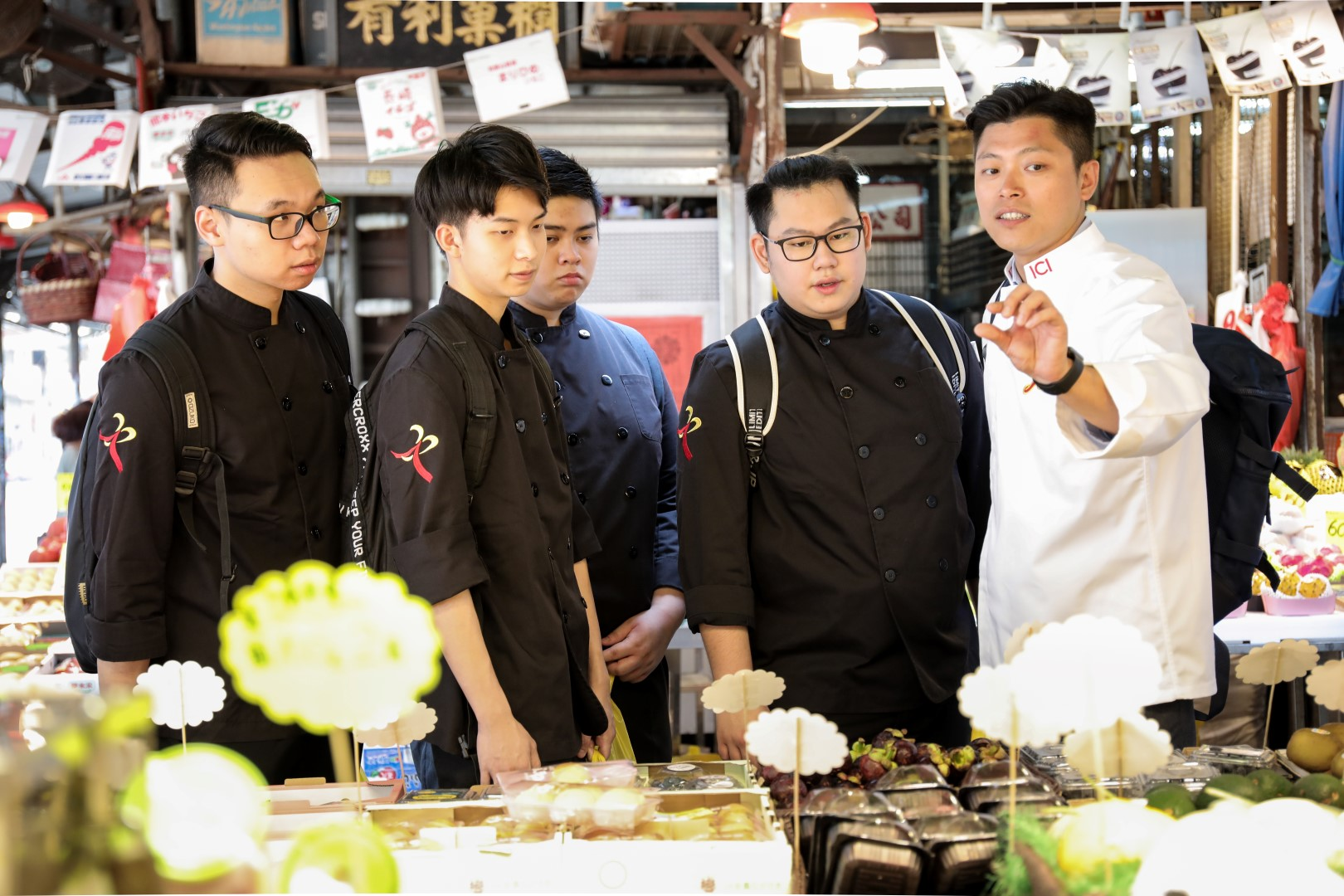 Culinary demonstration and theme dinner by Chef Bosco Li and Ngai Chun Pong