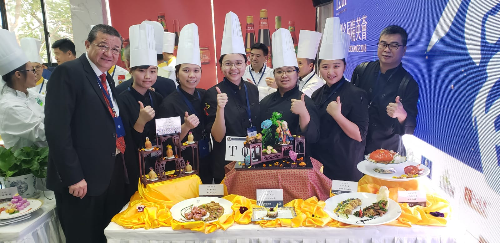 CCI swept awards in 2018 Asian Culinary Exchange