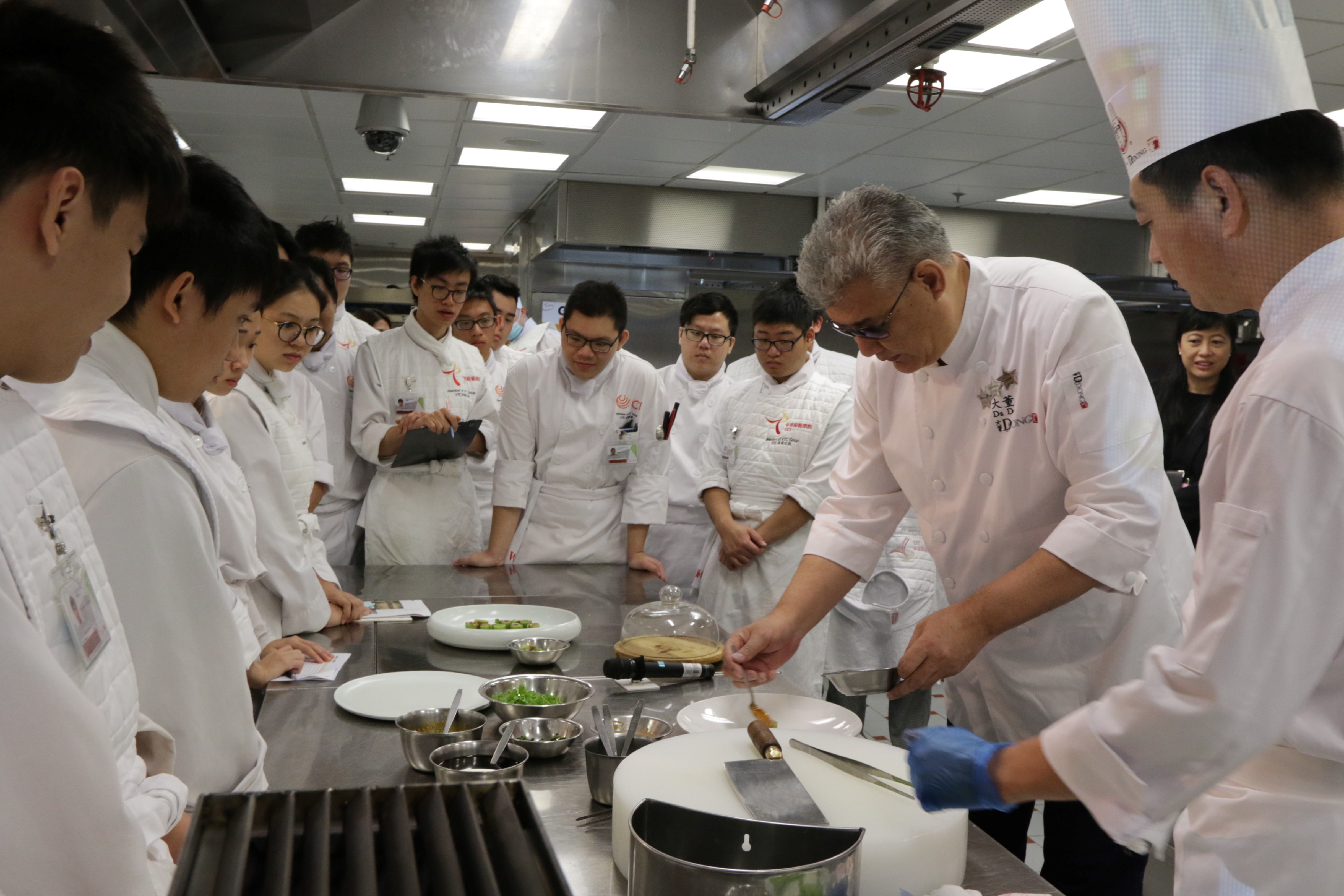 VTC 35 Event: Artistic Interpretation of Chinese Gastronomy Seminar and Theme dinner by Da Dong