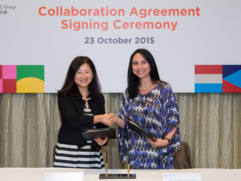 CCI signed a Memorandum of Understanding(MOU) with CESSA Universidad, Mexico