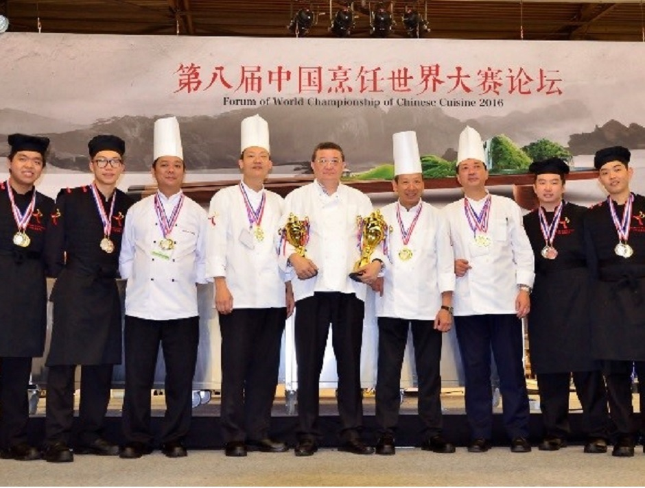 CCI won 10 awards at the World Championship of Chinese Cuisine (WCCC)